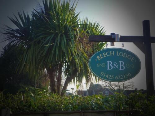 Beech Lodge Sign