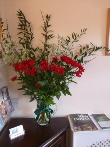 Reception Flowers Beech
